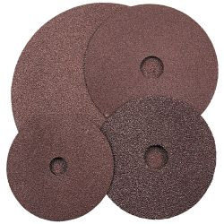 Kennedy100 x 16mm ALOX FIBRE DISCS P50  Pack of 25