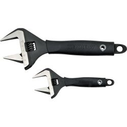 """Kennedy.6""""/10"""" WIDE JAW ADJUSTABLE WRENCH SET"""