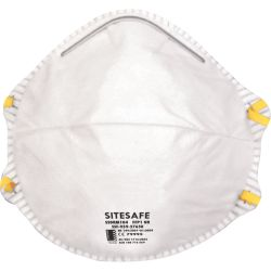 SitesafeSSDRM104 FFP1 Particulate Respirator Pack of 20