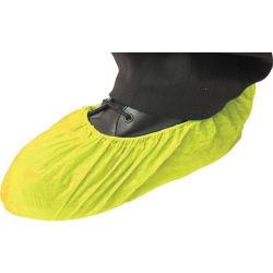 Sitesafe16 Disposable Yellow Overshoes Pk100